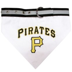 Pittsburgh Pirates MLB dog bandana and collar