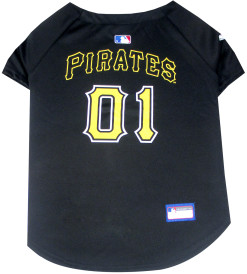 Pittsburgh Pirates MLB dog jersey back