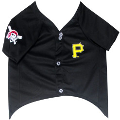 Pittsburgh Pirates MLB dog jersey front