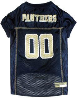 Pittsburgh State Panthers mesh NCAA dog jersey