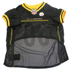 Pittsburgh Steelers NFL dog jersey front