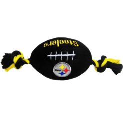 Pittsburgh Steelers plush NFL football dog toy