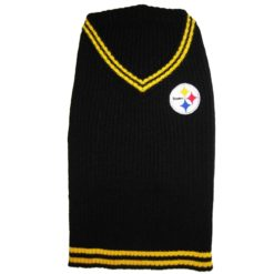 Pittsburgh Steelers turtleneck NFL dog sweater
