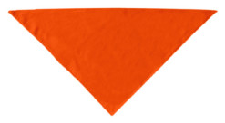 Plain Orange dog bandana