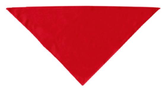 Plain red dog bandana