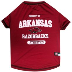 Property of Arkansas Razorbacks Athletics Dog TShirt