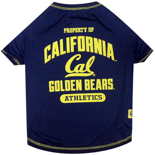 Property of California Golden Bears Athletics NCAA Dog TShirt