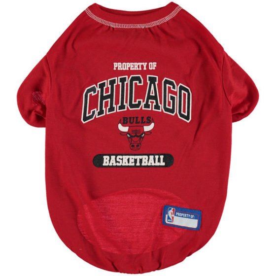 Property of Chicago Bulls Basketball NBA Dog Shirt