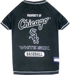 Property of Chicago White Sox baseball dog shirt