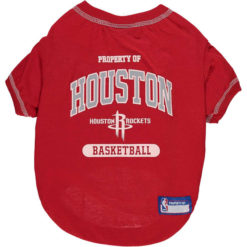 Property of Houston Rockets Basketball NBA Dog Shirt