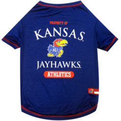Property of Kansas Jayhawks Athletics NCAA Dog TShirt