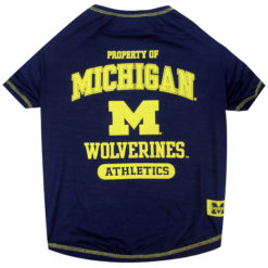 Property of Michigan Wolverines Athletics NCAA Dog Shirt