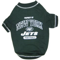 Property of New York Jets Football Athletics Dog Shirt