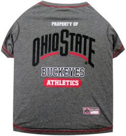 Property of Ohio State Buckeyes Dog TShirt