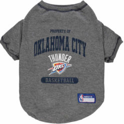 Property of Oklahoma City Thunder NBA Dog Shirt front