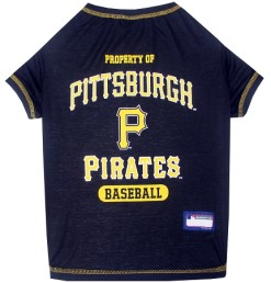 Property of Pittsburgh Pirates MLB dog tee shirt