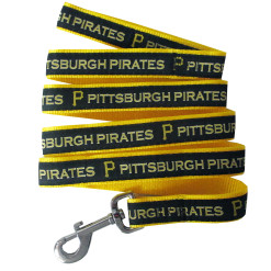 Property of Pittsburgh Pirates MLB nylon dog leash