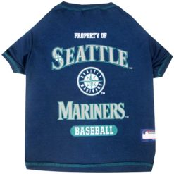 Property of Seattle Mariners Baseball MLB Dog TShirt