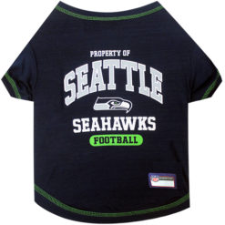 Property of Seattle Seahawks Football Dog TShirt