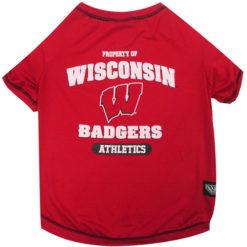 Property of Wisconsin Badgers Athletics Dog TShirt