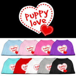 Puppy Love Screenprint t-shirt sleeveless