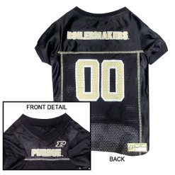 Purdue University Boilermakers NCAA dog jersey
