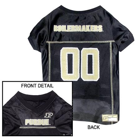 Purdue University Boilermakers NCAA dog jersey