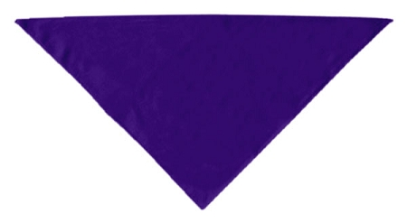 Purple plain dog bandana