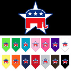 Republican Party dog bandana