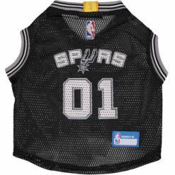 San Antonio Spurs NBA Dog Jersey front