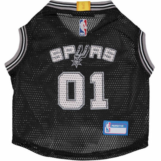 San Antonio Spurs NBA Dog Jersey front
