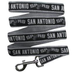 San Antonio Spurs Nylon Dog Leash