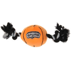 San Antonio Spurs Plush NBA Dog Toy