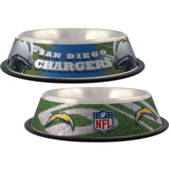San Diego Chargers NFL stainless dog bowl