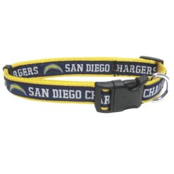 San Diego Chargers NFL Nylon Dog Collar