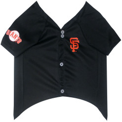San Francisco Giants MLB dog jersey front