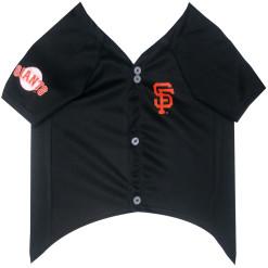 San Francisco Giants MLB dog jersey front