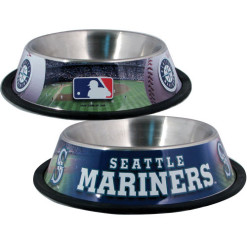 Seattle Mariners Stainless dog bowl
