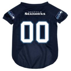 Seattle Seahawks NFL dog jersey alternate style