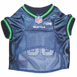 Seattle Sehawks NFL dog jersey front