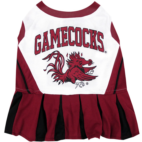 South Carolina Gamecocks NCAA Dog Cheerleader Dress