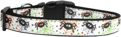 Spiders and Webs Dog Collar Adjustable