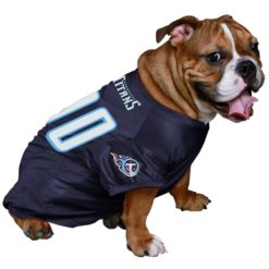 Tennessee Titans dog jersey style 2 on pet