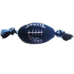 Tennessee Titans plush football dog toy
