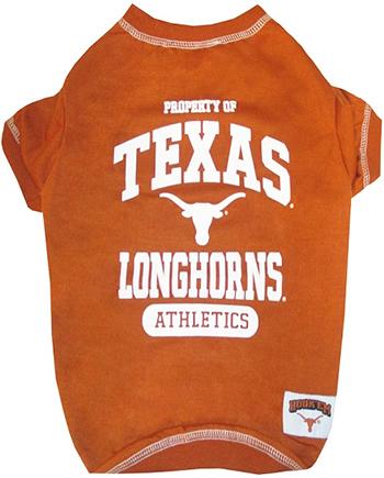 Texas Longhorns Athletics dog shirt