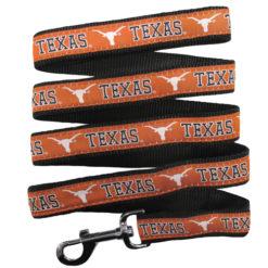 Texas Longhorns NCAA Nylon Dog Leash