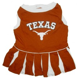 Texas Longhorns NCAA dog cheerleader dress