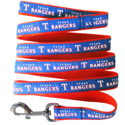 Texas Rangers MLB nylon dog leash