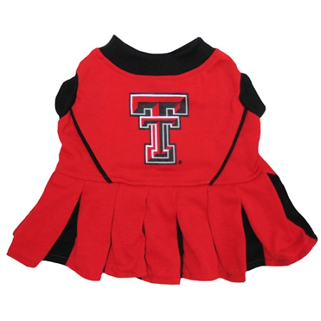 Texas Tech Red Raiders NCAA dog cheerleader dress