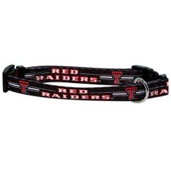 Texas Tech Red Raiders NCAA dog collar